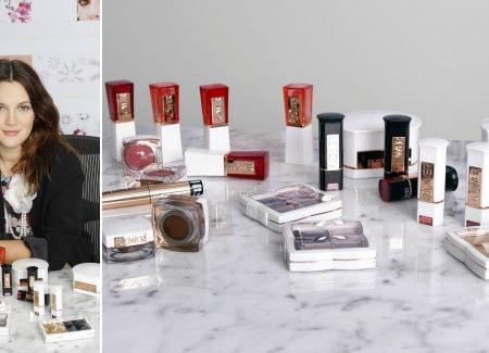 Drew barrymore cosmetics line