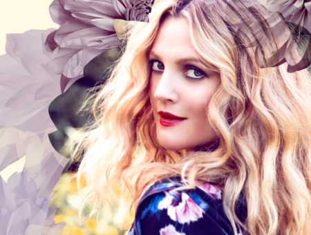 Drew Barrymore flower beauty