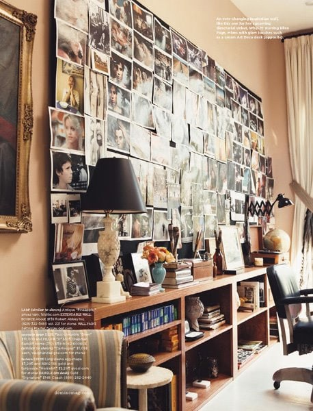 Drew Barrymore's Eclectic Office Space