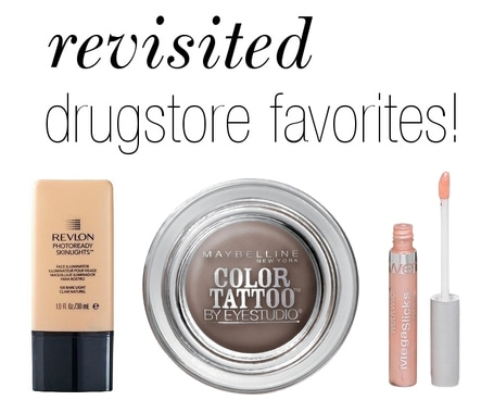 Drugstore beauty products to revisit
