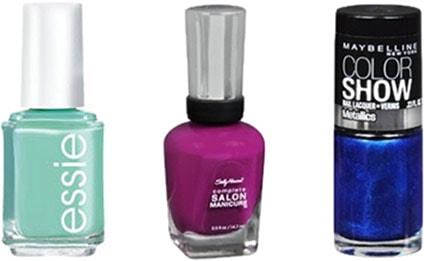 Drugstore nail polishes