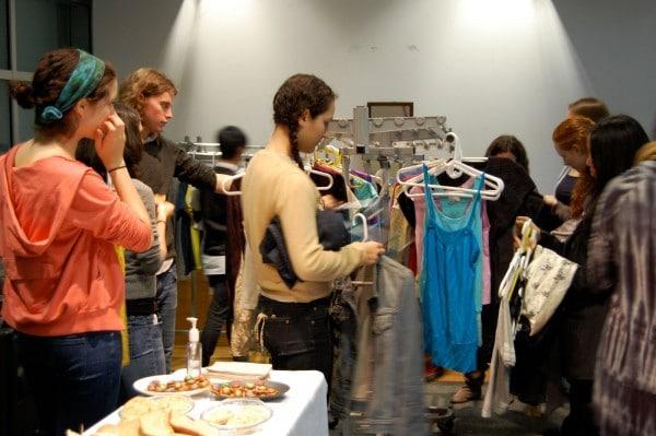 Clothing swap photo