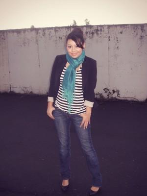 College fashionista Liz