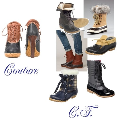 shop for duck boots