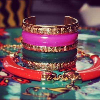 Duro Olowu for JCP bracelets