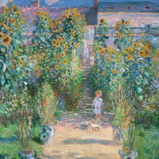 monet artists garden