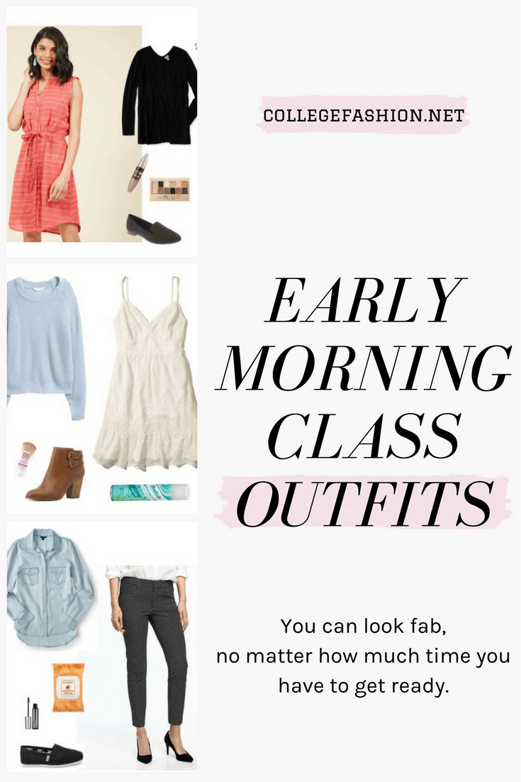 Early morning class outfits