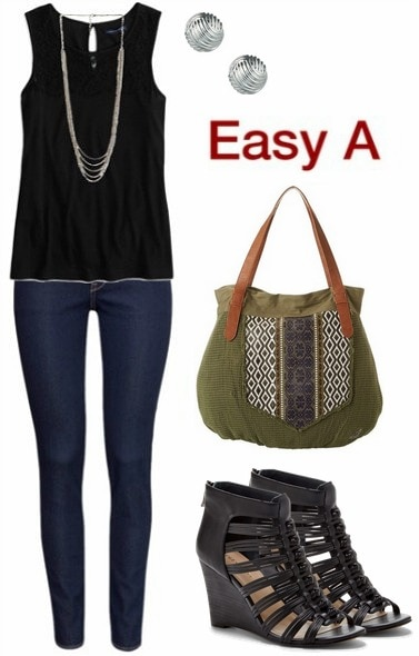 Easy A outfit inspiration