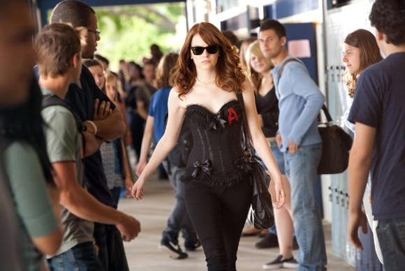 Easy A Scarlet Letter Outfit