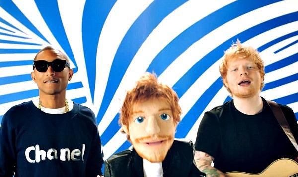 Ed sheeran sing music video