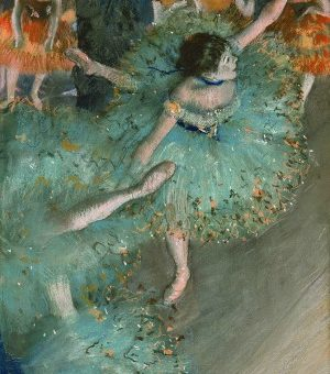 Edgar degas the swaying dancer