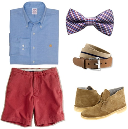 Edgy mens outfit with a bow tie