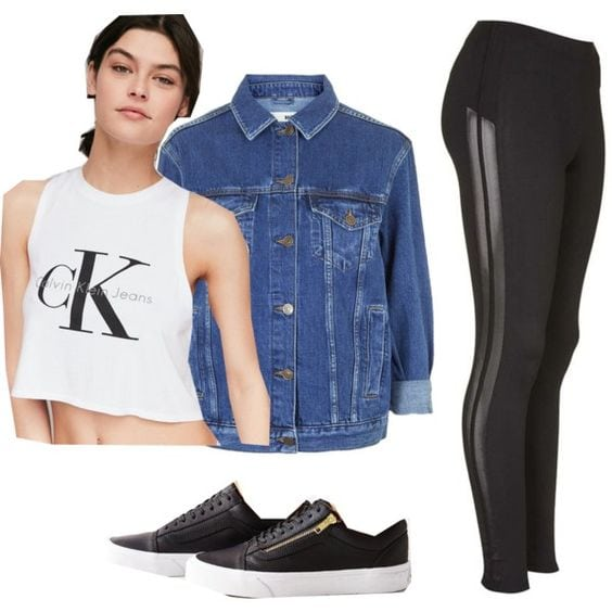 Edgy Polyvore
