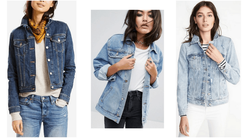Edgy style must haves: Denim jackets