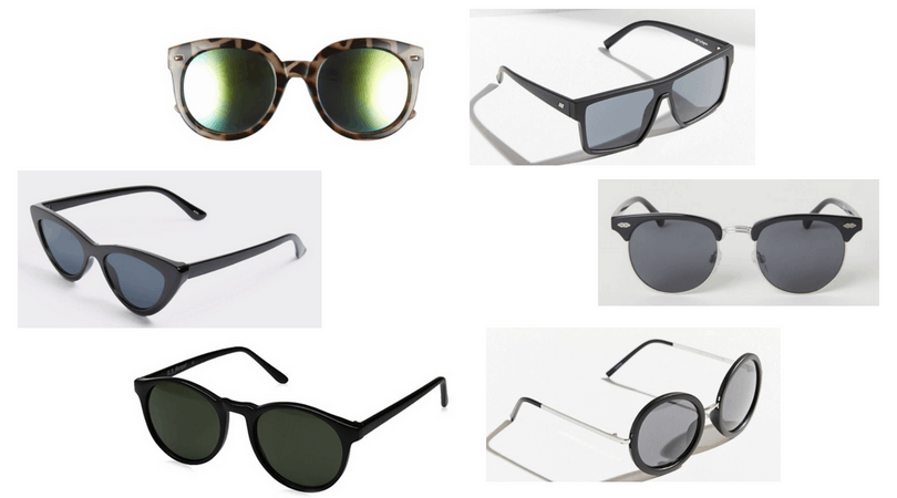 Edgy sunglasses for girls with rock star style