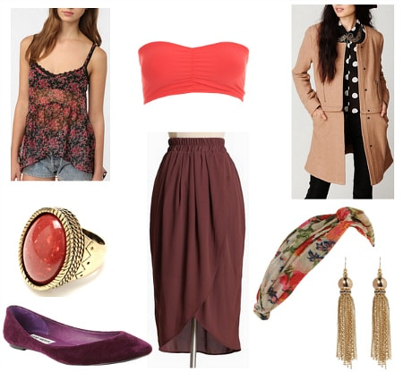 Edith Bouvier Beale Inspired Outfit 1