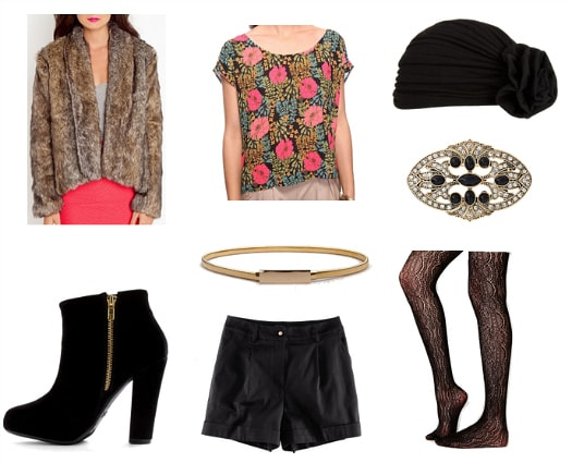 Edith Bouvier Beale Inspired Outfit 2