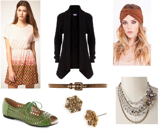 Edith Bouvier Beale Inspired Outfit 3