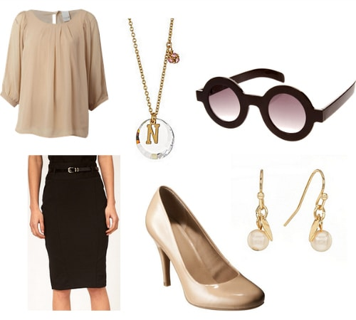 Edith Head Inspired Outfit 1