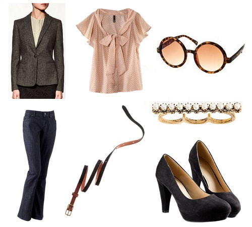 Edith Head Inspired Outfit 2