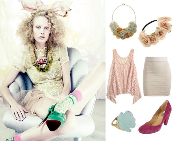 Editorial look 3 - Vogue UK