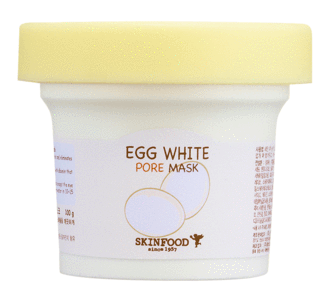 Photo of SkinFood Egg White face mask.