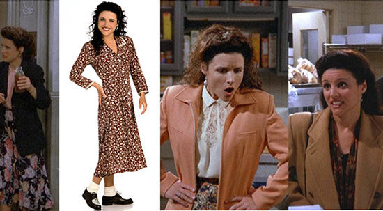 Fashion inspiration: Elaine Benes from Seinfeld