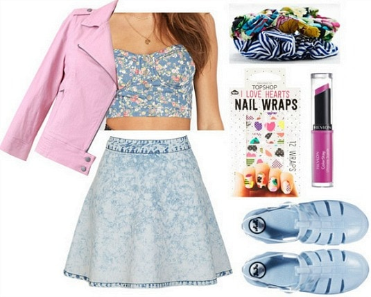 Eleanor and park 80s outfit