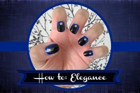 Elegance nail tutorial header