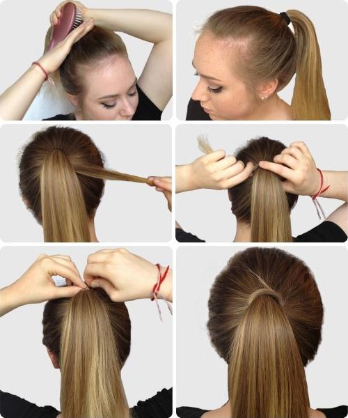 Sleek, elegant ponytail tutorial