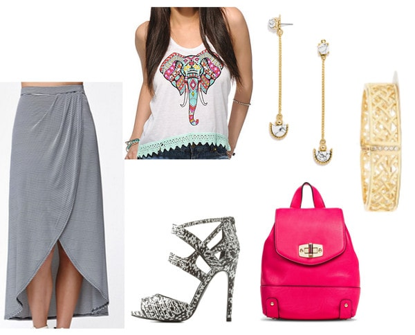 Elephant Tank Top Night Out Look