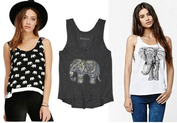 elephant tank tops