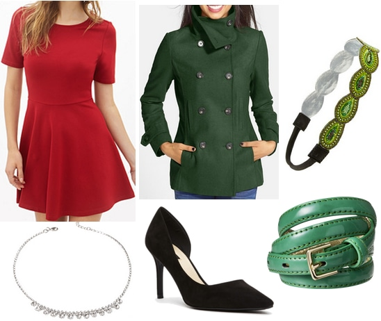 Elf Jovie Holiday Outfit