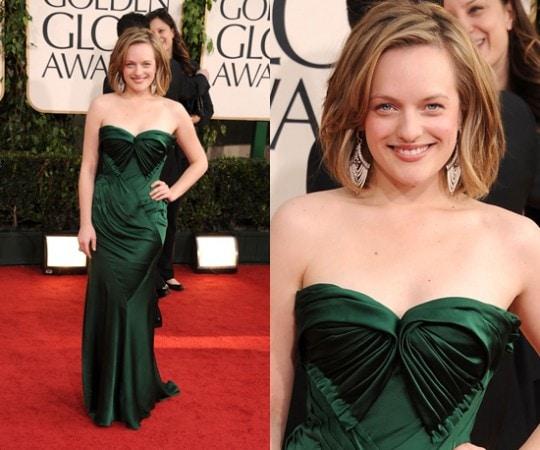 Elisabeth Moss 2011 Golden Globes