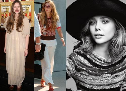 Elizabeth Olsen Boho Style