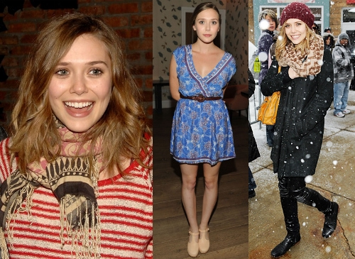 Elizabeth Olsen Classic and Quirky Style