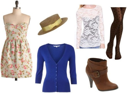 Outfit inspired by Elizabeth from Delightfully Tacky