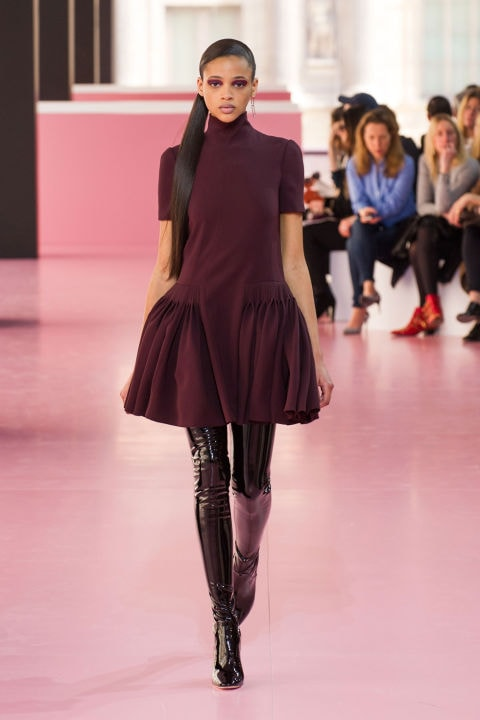christian dior runway look