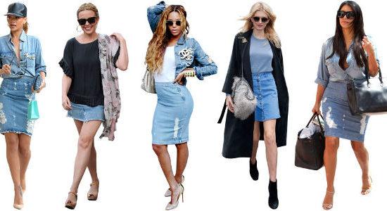 ELLE Denim Skirts