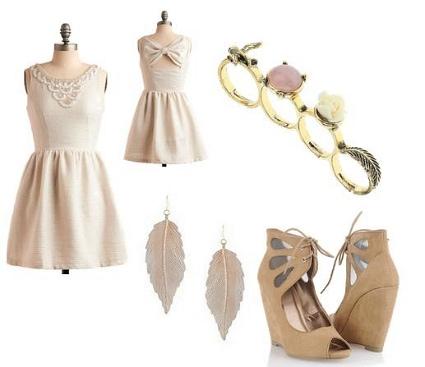 Elle Fanning Full Skirt Inspired Outfit
