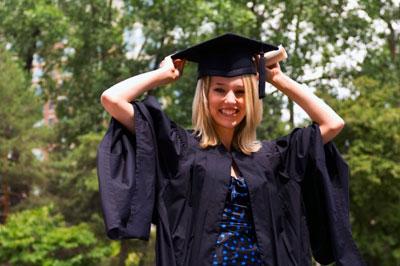 Elle Graduation Photo