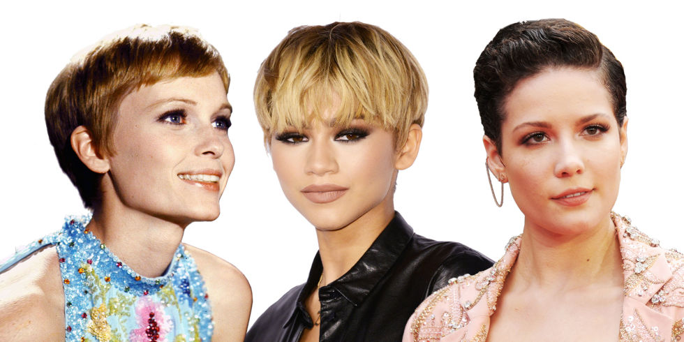 Pixie cut examples