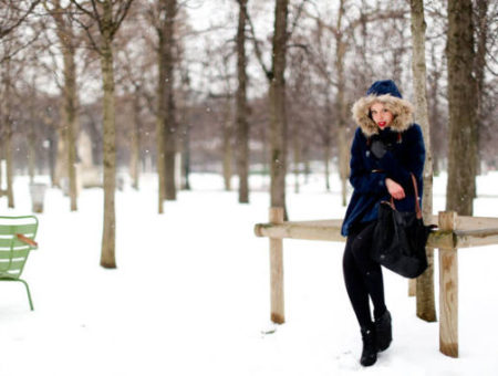 Elle snow winter coat