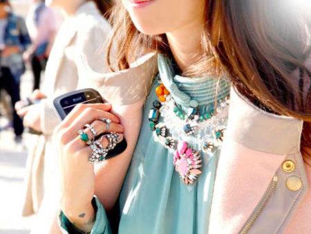 Elle statement necklace