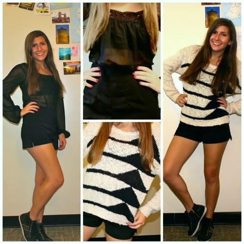 Ellie goulding style shorts