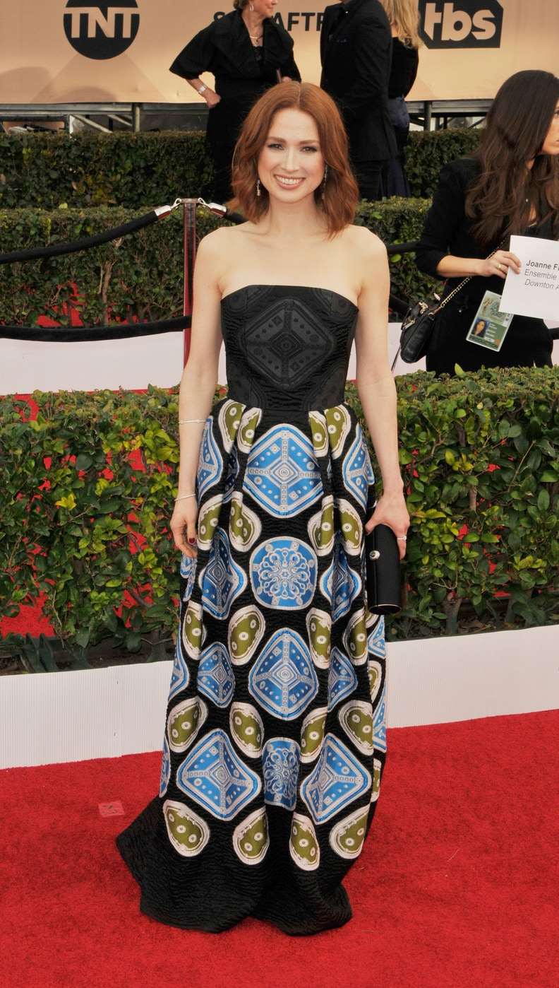 Ellie Kemper in Peter Pilotto at the 2016 SAG Awards