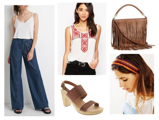 Anthropologie inspired outfit
