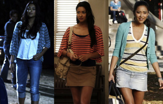 How to dress like Emily from Pretty Little Liars