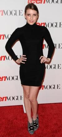Emma Roberts The Row Turtleneck