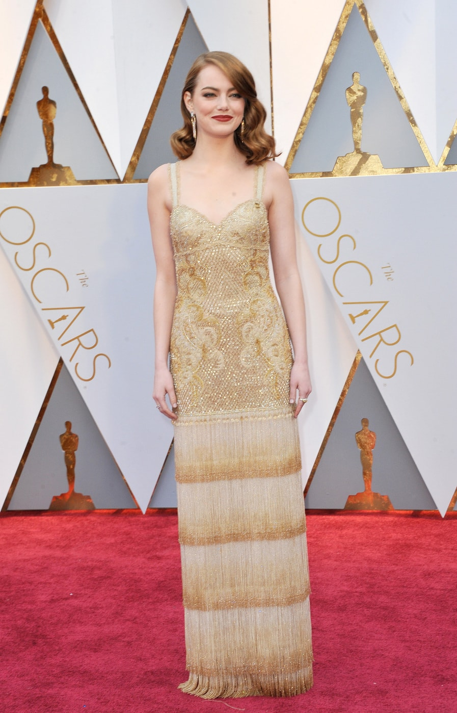 Emma Stone in Givenchy Couture at the 2017 Oscars